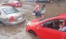 أمطار #مصر_بتغرق تفيض على منصات التواصل