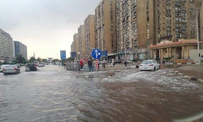 مصر: مصرع 19 شخصا جراء الأحوال الجوية العاصفة