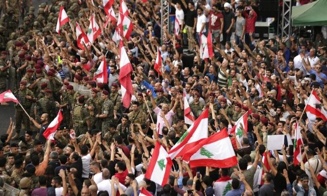 احتجاجات لبنان تدخل أسبوعها الثاني وترقب لخطاب عون