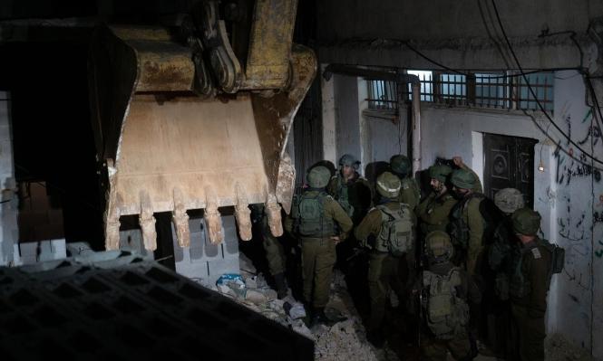 الاحتلال يهدم مرة أخرى منزل عائلة أبو حميد في الأمعري