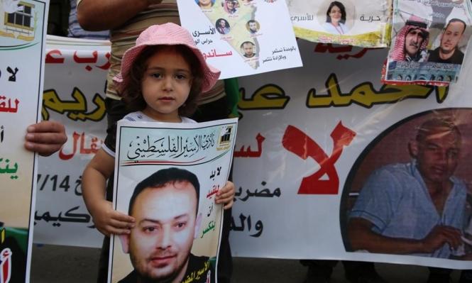 بعد أكثر من مئة يوم: الأسير غنام يعلق إضرابه  عن الطعام