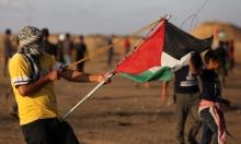 77 مصابا جراء اعتداء الاحتلال على مسيرة العودة