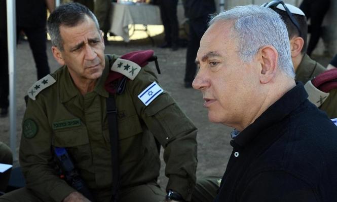 """""""الوضع الأمني هش"""": لازمة الجيش الإسرائيلي لزيادة ميزانيته"""