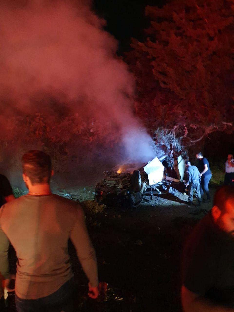 مفرق المكر: قتيلان في حادث طرق
