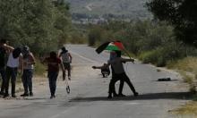 إصابات في قمع مسيرة سلمية في منطقة الحمة