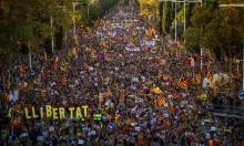 350 ألفًا يحتشدون في برشلونة تأييدًا للاستقلال