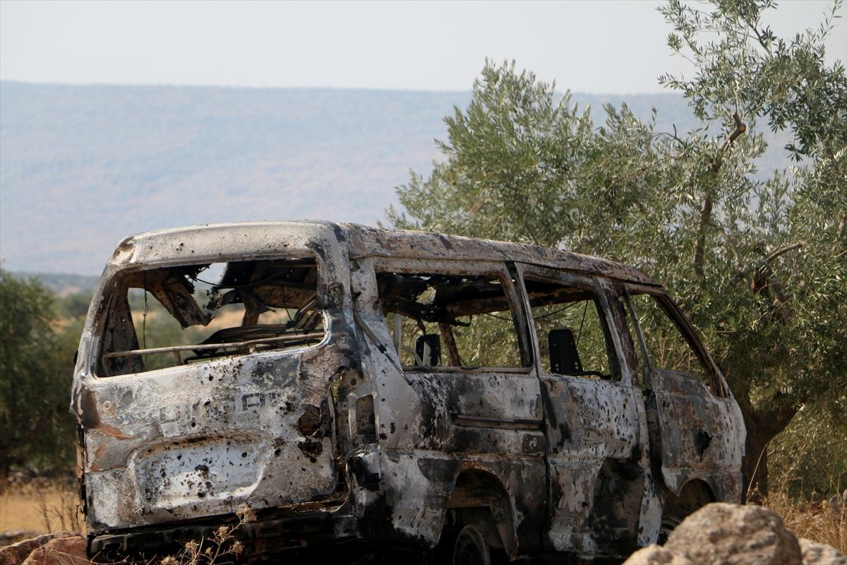 """صور من المكان الذي شهد مقتل زعيم تنظيم """"داعش"""" أبو بكر البغدادي"""
