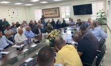 كفر قرع: دعوات لمقاطعة حملة السلاح ومظاهرة احتجاجية الجمعة