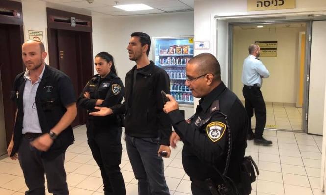 """حيفا: أمن مستشفى """"بني تسيون"""" يعتدي على مساندين للأسيرة اللبدي"""
