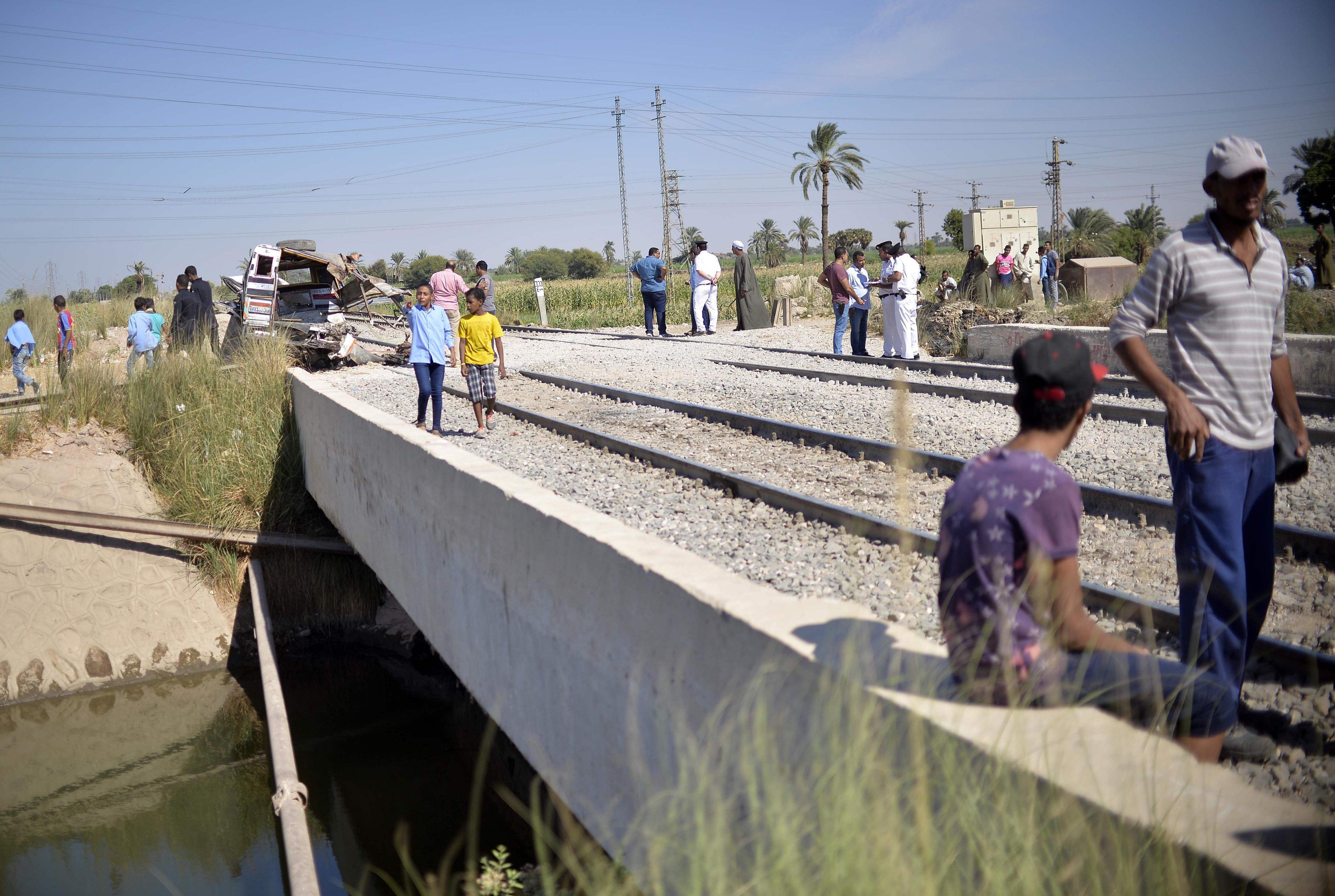 مصر: مصرع 4 أشخاص في حادثة قطار