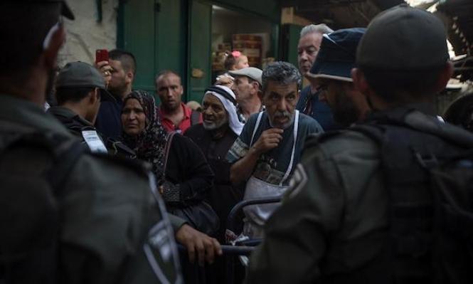 اعتقالات خلال اعتداءات لقوات الاحتلال في شارع الواد بالقدس المحتلة