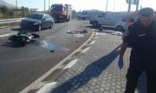 مصرع سائق دراجة نارية بحادث قرب طبرية
