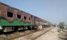 باكستان: 73 قتيلا بحريق في قطار في البنجاب