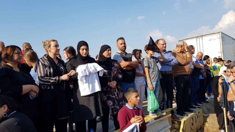 """دير الأسد: استمرار الاحتجاجات إزاء """"شارع الموت"""""""