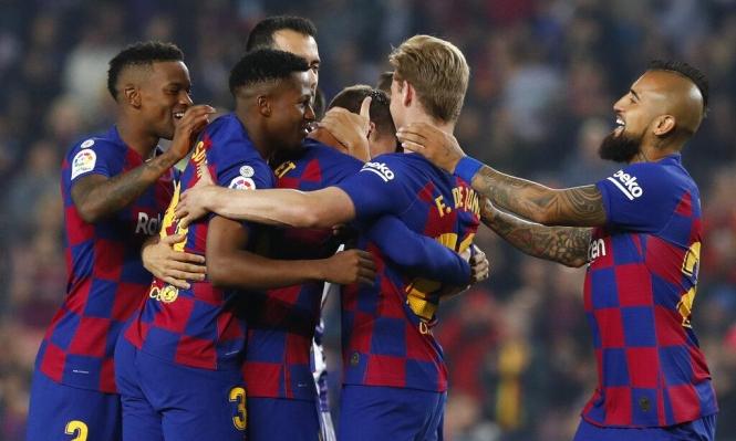 برشلونة يتحرك لإبرام صفقة إيطالية