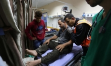 قطاع غزة: شهيد وإصابتان في قصف إسرائيلي