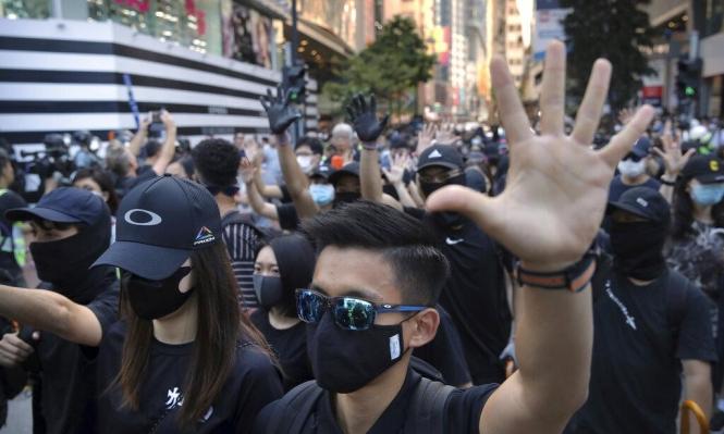 تجدد احتجاجات هونغ كونغ: الشرطة تقمع آلاف المتظاهرين وتعتقل المئات