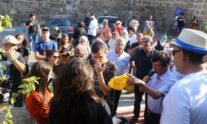 مشاركة العشرات بجولة لجمعية الدفاع عن حقوق المهجرين في طبريا