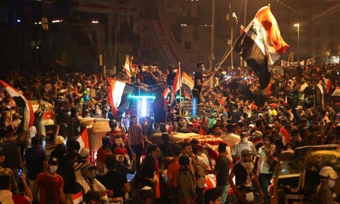 قتيل وعشرات الجرحى ببغداد والاعتصامات تغلق ميناء أم قصر