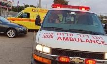 إصابة خطيرة في حادث طرق قرب اللد