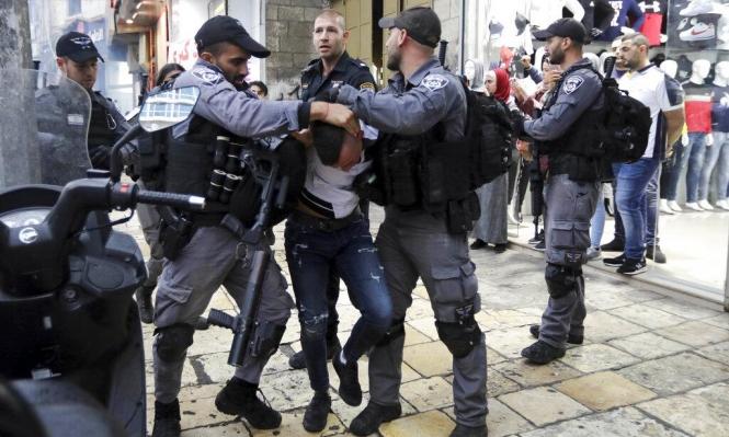 مواجهات واعتقالات طالت 20 فلسطينيا بالضفة والقدس