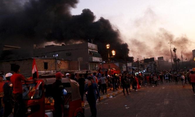 احتجاجات العراق: قتلى في بغداد وقطع الإنترنت عن المحافظات