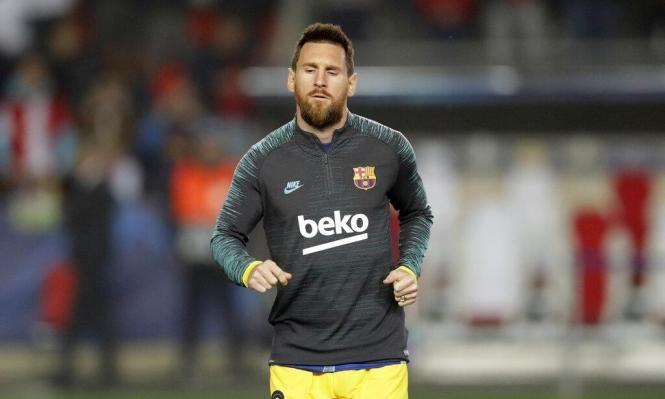 ميسي: أحلم بمواصلة الفوز بالألقاب مع برشلونة