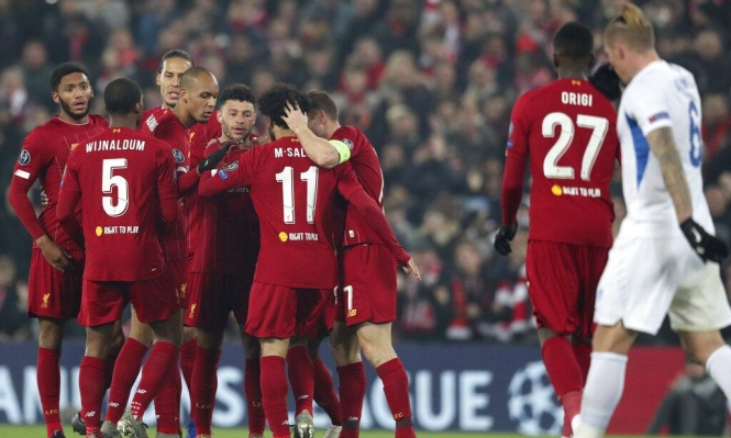 ليفربول يتخطى جينك بهدفين مقابل هدف