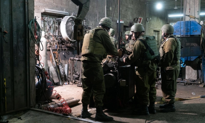 اعتقالات بالضفة وتوغل عسكري محدود بغزة