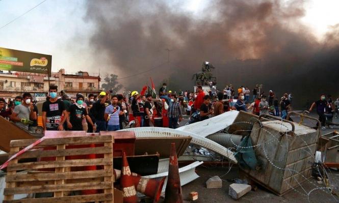 العراق: مقتل 13 محتجا وإغلاق محيط القنصلية الإيرانية بالبصرة