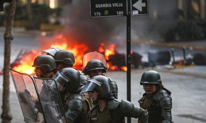 تشيلي: الاحتجاجات تجتاح الأحياء الغنية
