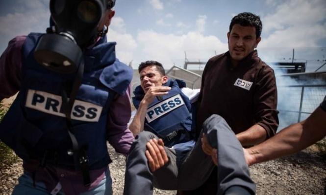 خلال 2019: الاحتلال استهدف أكثر من 600 صحافي