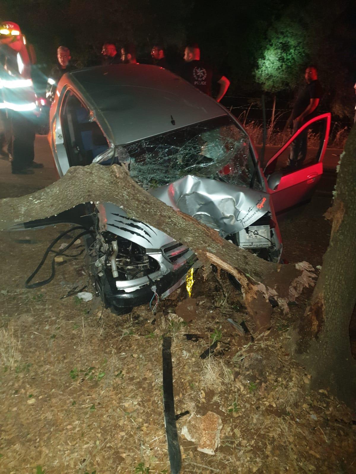 دالية الكرمل: إصابتان إحداهما خطيرة في حادث ذاتي
