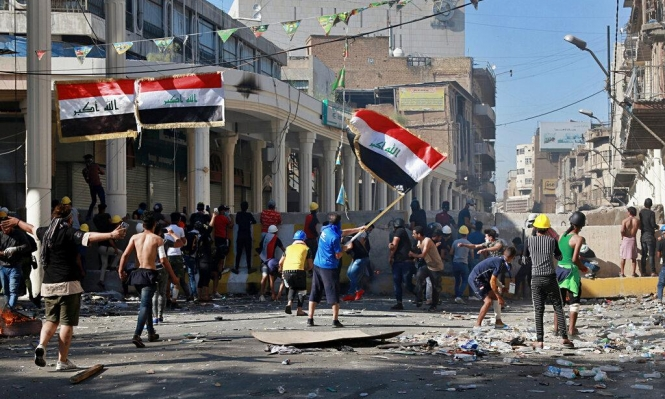 العراق: الاحتجاجات مستمرة والحكومة تهدد بالسجن المؤبد