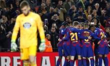 هاتريك ميسي يقود برشلونة للفوز على سيلتا فيغو