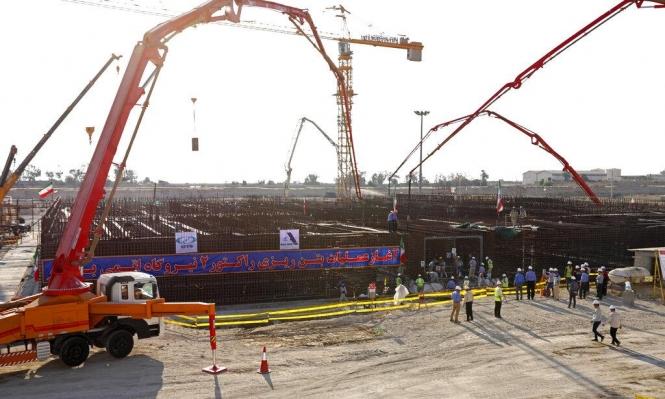 إيران تباشر بناء مفاعل نووي ثان في بوشهر