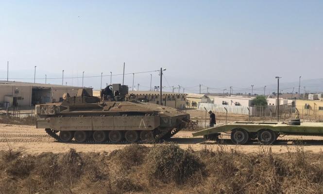 مناورة للجيش الإسرائيلي تحاكي إخلاء مستوطنة بغلاف غزة