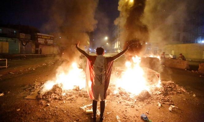 """العراق: المتظاهرون يحافظون على صفوفهم و""""أمنستي"""" تدين """"حمام الدم"""""""