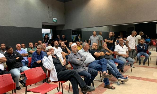 قلنسوة تُجابه الهدم الوشيك للمنازل: مظاهرة احتجاجيّة وخيمة اعتصام