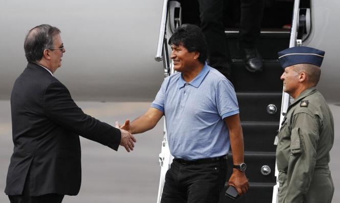 رئيس بوليفيا المستقيل تحت ضغط الجيش يصل المكسيك