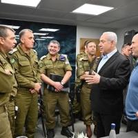 """نتنياهو: """"نحن في أوج معركة.. وجهتنا ليست للتصعيد"""""""
