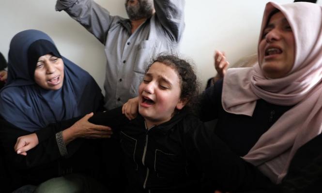 أبو العطا زار ابنته بيوم ميلادها... فاستشهد