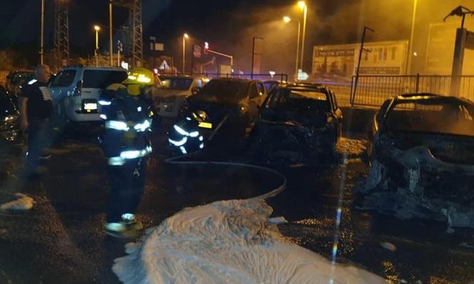 جولس: التحقيق في احتراق 6 سيارات