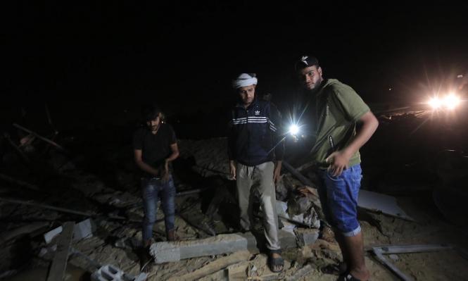 العدوان على غزة: 34 شهيدا بينهم أطفال ونساء