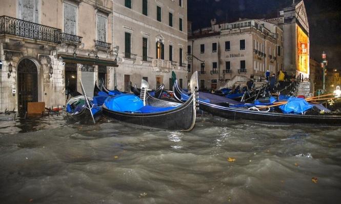 إيطاليا: إعلان حالة الطوارئ بالبندقية بعد غرق 80% منها