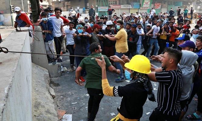 العراق: قتلى في قمع الأمن للمتظاهرين وسط بغداد