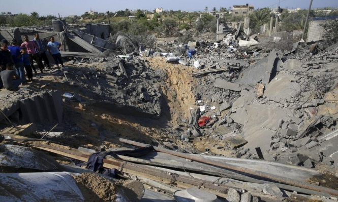 تقرير: 500 وحدة سكنية تضررت جراء العدوان على غزة