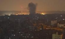 """الاحتلال يقصف مواقع في غزة """"لحماس"""" بعد إطلاق صاروخين على بئر السبع"""