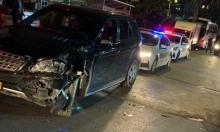 عيلوط: إصابة خطيرة لشابين جراء حادث طرق
