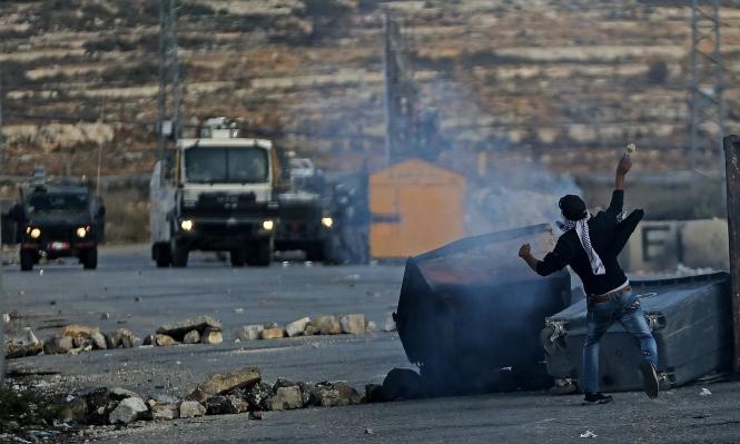 الضفة: إصابات ومواجهات عقب وقفات تضامنية مع غزة